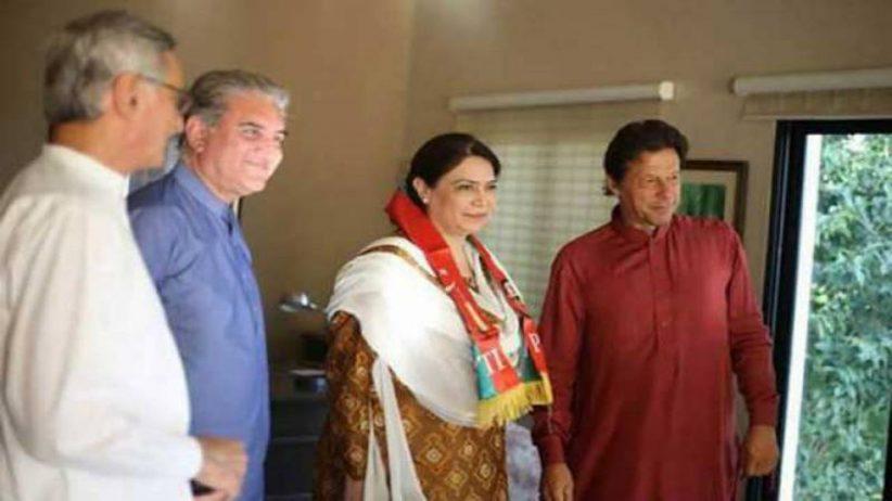 سابق وزیر نیلوفر بختیار بھی پاکستان تحریک انصاف میں شامل