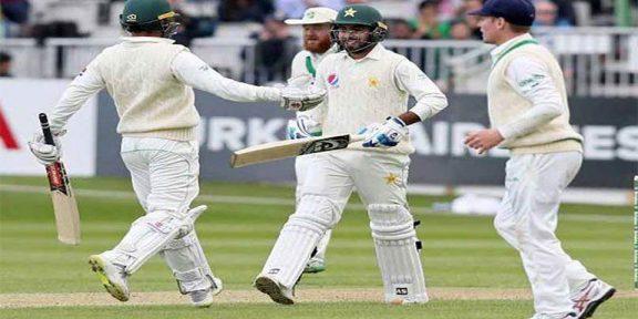 آئر لینڈ کے خلاف ٹیسٹ میں پاکستان نے 310 رنز پر اننگ ڈکلیئر کردی