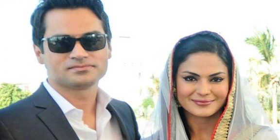 نامور پاکستانی اداکارہ و میزبان وینا ملک نے شوہر سے خلع کی تصدیق کردی