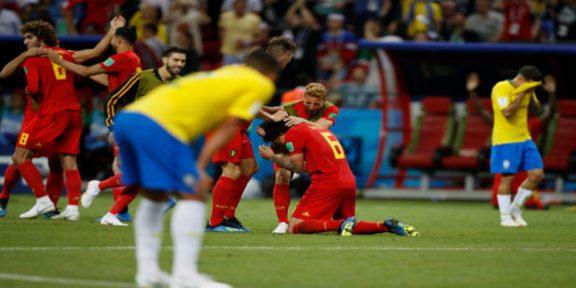 پانچ بار ورلڈکپ کی فاتح ٹیم برازیل اب ورلڈ کپ سے باہر ہو گئی ہے
