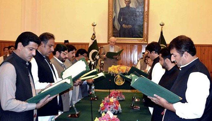 بلوچستان کی کابینہ نے بھی حلف اٹھالیا