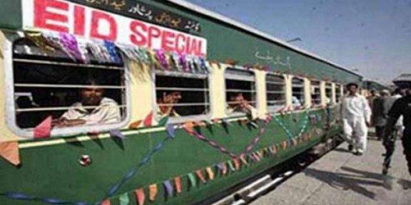 عیدالاضحٰی کے موقع پر 5 خصوصی ٹرینیں چلانے کا اعلان