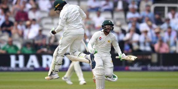 دبئی ٹیسٹ : پاکستان کو جیت کیلئے مزید 7 وکٹیں درکار، پاکستان کی گرفت مضبوط