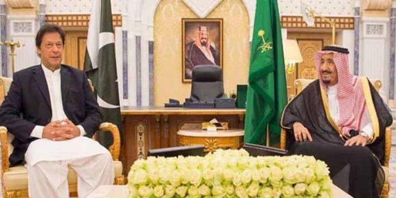 وزیراعظم پاکستان کی سعودی فرمانروا سے ملاقات