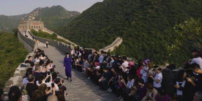 China Wall Fashion Show