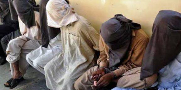 کراچی پولیس کی مختلف علاقوں میں کارروائیاں 11 ملزمان کو گرفتار