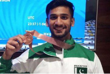 پاکستانی ویٹ لفٹر نے 3 میڈلز جیت لئے
