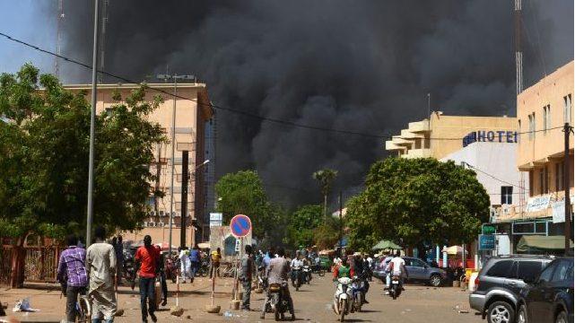 افریقی ملک برکینا فاسو میں شدت پسندوں کا حملہ
