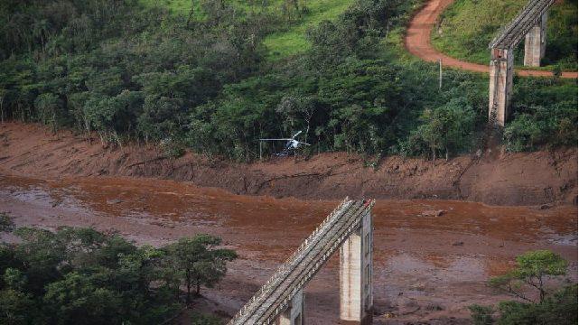 برازیل میں ڈیم ٹوٹنے سے 58 افراد ہلاک