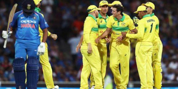 پہلے ون ڈے میں بھارت کو 34 رنز سے شکست