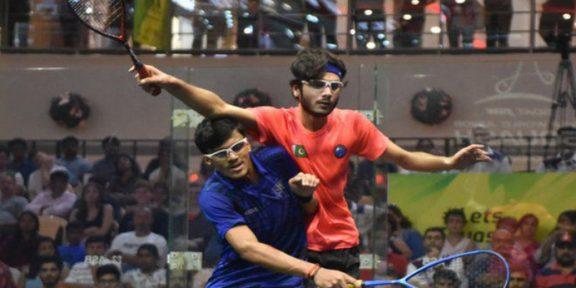 برٹش جونیئر اسکواش: پاکستانی کھلاڑی سیمی فائنل میں