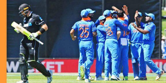 بھارت نے نیوزی لینڈ کو شکست دیدی