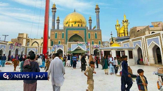حضرت قلندر لعل شھباز کا 767 واں عرس،  زائرین کی آمد جاری