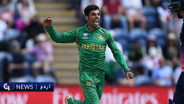 شاداب خان کی ٹیم میں واپسی کی متوقع