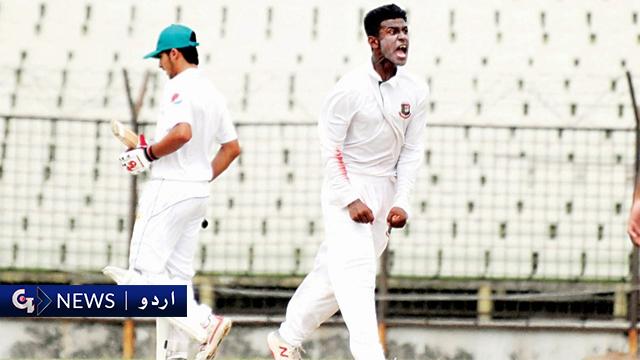 پاکستان انڈر16 ٹیم کا بنگلہ دیش کا دورہ، گرین شرٹس کو 5 وکٹوں شکست حاصل