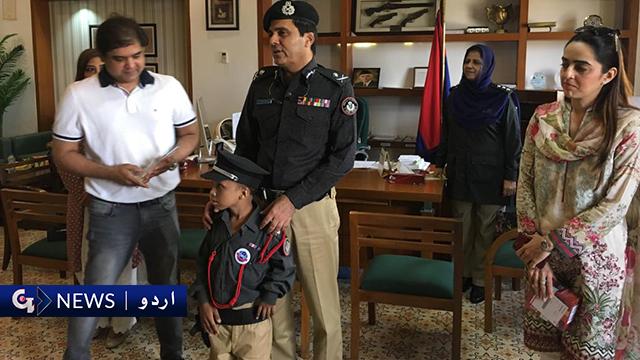 کراچی، ایک دن کے سب انسپکٹر کی پولیس چیف سے ملاقات