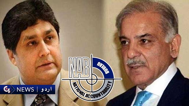 ضمانت منسوخی کیس: نیب نے شہباز شریف اور فواد حسن فواد کے خلاف الزامات کی بوچھاڑ کردی
