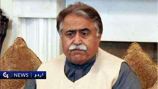 چیئرمین نیب نے آج عمران خان کی زبان بولی ہے، مولا بخش چانڈیو