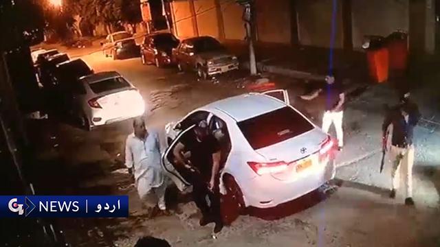 تاجر کے گھر پر پولیس وردی میں ملبوس افراد کا دھاوا، بھتہ طلب
