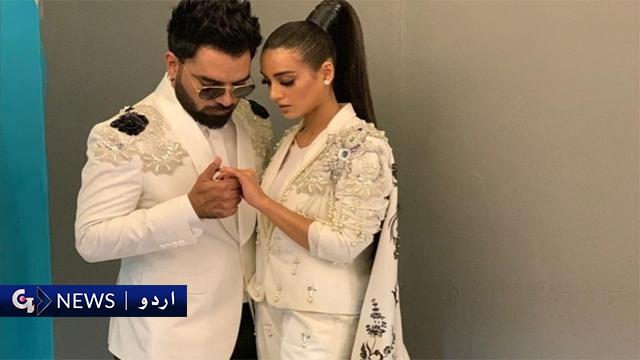 اداکارہ اقراء عزیز نے اداکار یاسر حسین کو شادی کے لئے ہاں کردی