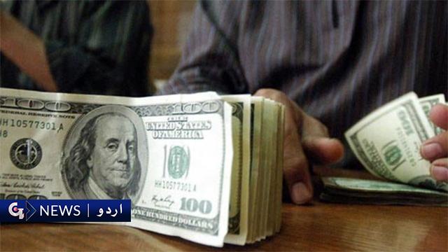 پاکستان اسٹاک مارکیٹ: ڈالر میں 20پیسےکے کمی سے 160 روپے 30پیسے ہوگیا
