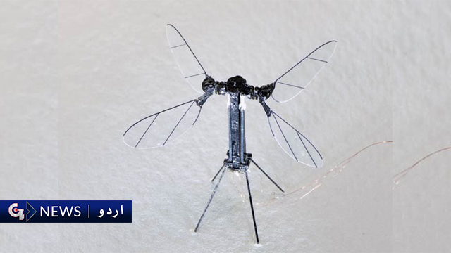 چھوٹا اور ہلکا ترین اڑن روبوٹ تیار