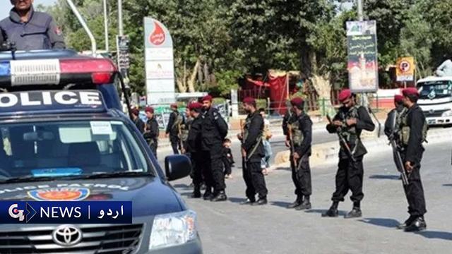 کراچی: پولیس اہلکار جاں بحق، بہادرآباد اور زمان ٹاؤن میں کارروائیاں، ملزمان گرفتار