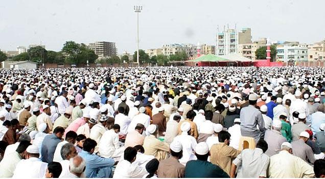 ملک بھر میں عید الاضحیٰ کا پہلا روز مذہبی عقیدت و احترام کے ساتھ منایا گیا