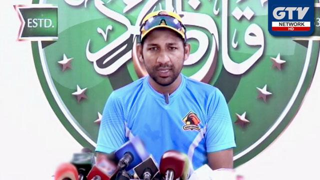 ڈومیسٹک اسٹرکچر بہترین قرار، کپتانی کا فیصلہ بورڈ کرے گا : سرفراز احمد