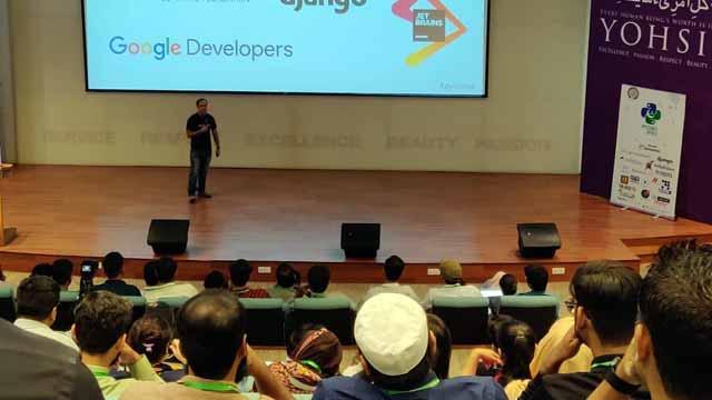 حبیب یونیورسٹی کراچی میں پائیکون پاکستان کے تحت عالمی کانفرنس