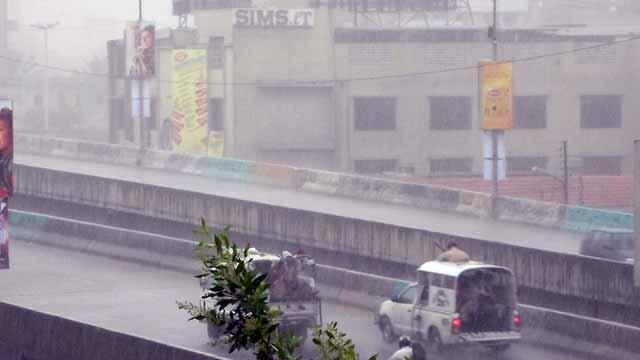 محکمہ موسمیات کی کراچی میں بارش کی پیشگوئی