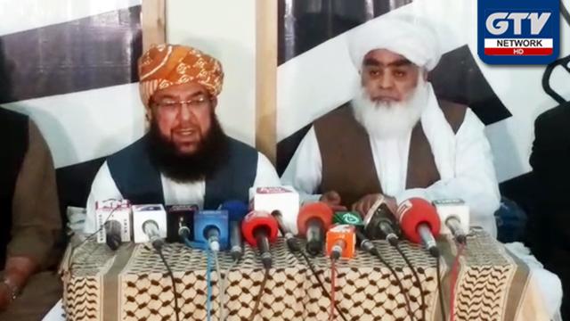 حکومت کی رخصتی کا وقت آن پہنچا ہے : مولانا عبدالغفور حیدری