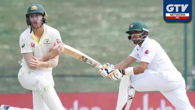 پاکستان اور آسٹریلیا اے کے درمیان پریکٹس میچ جاری
