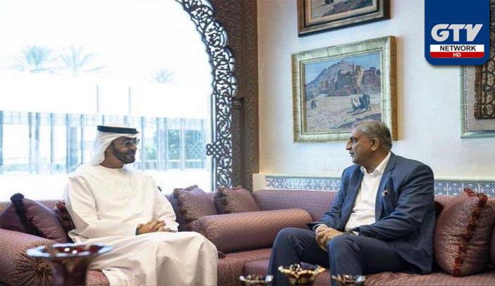 آرمی چیف کی ابوظہبی کے امیرشیخ محمد بن زید النہیان سے ملاقات