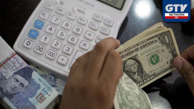 امریکی ڈالر پندرہ پیسے سستا ہونے کے بعد چھ ماہ کی کم ترین سطح پر آگیا