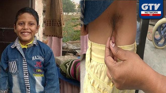 """بھارت میں بچے کو """"ہنومان"""" بنا کر اس کی پوجا شروع کردی"""