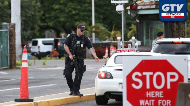 امریکی بحری اڈے پر فائرنگ سے دو اہل کار زخمی، حملہ آور کی خودکشی