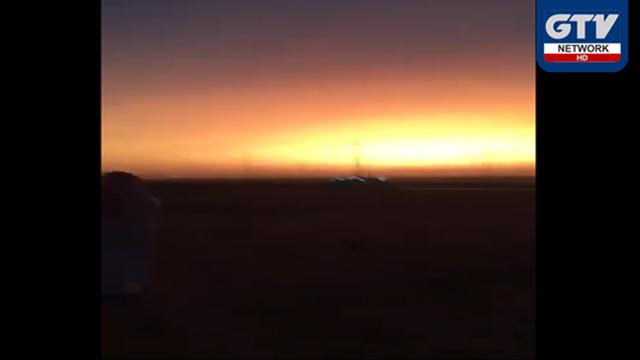 سورج غروب ہونے کے بعد دوبارہ طلوع، شہری حیران: سعودی عرب