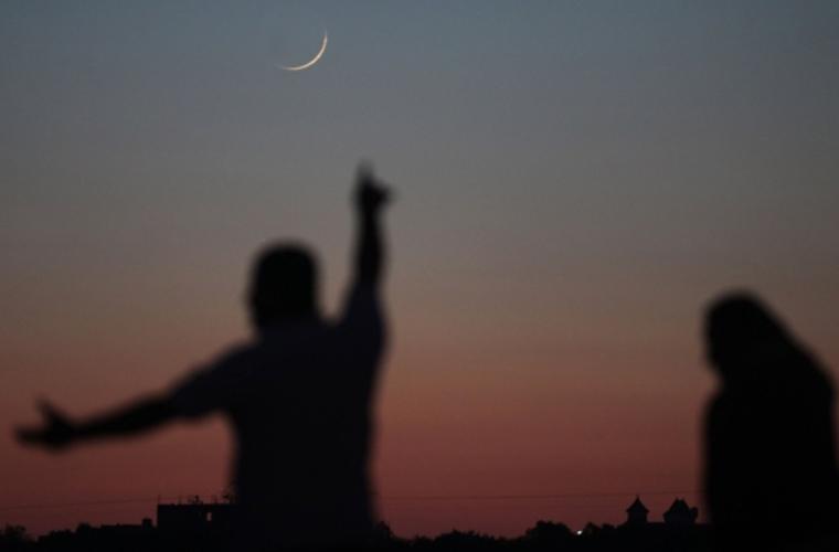 چاند کے واضح