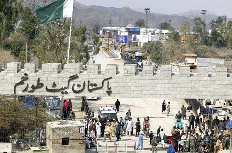 طورخم بارڈر پر افغانستان