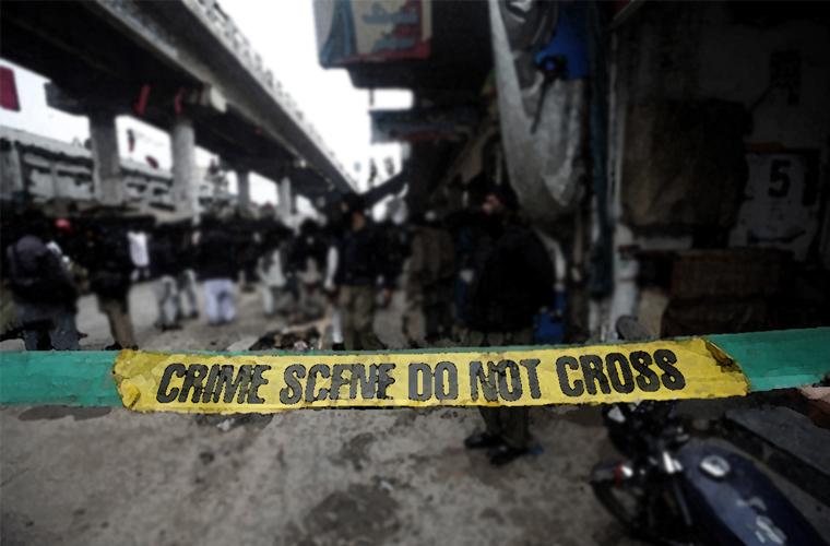 bomb blast in karachi