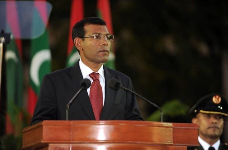 مالدیپ کے دھماکہ