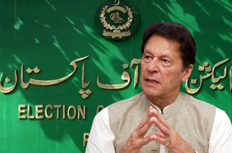 عمران خان کو شوکاز