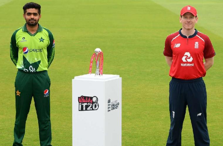 پاکستان اور انگلینڈ کے درمیان آخری ٹی ٹوئنٹی میچ آج کھیلا جائے گا