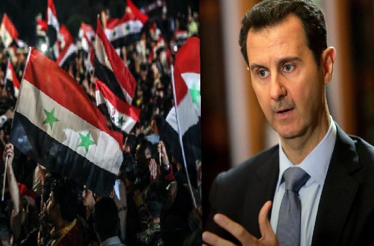 شامی صدر بشار الاسد نے چوتھی بار صدر کا حلف اٹھا لیا