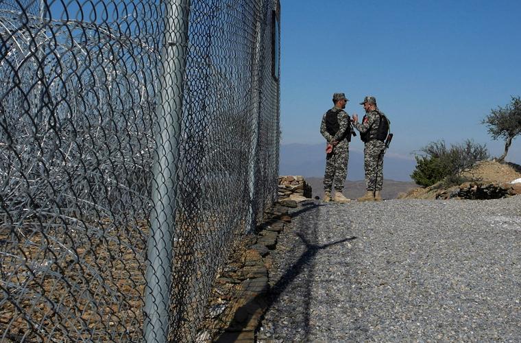 پاک ایران سرحد پر باڑ